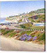 Pacific Coast Hwy Del Mar Canvas Print