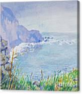 Pacific Coast Canvas Print