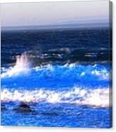 Pacific Grove Surf 19806 Canvas Print