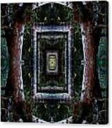 Pacific Madrone Mandala Yantra Canvas Print