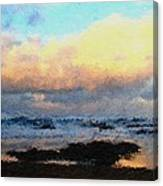 Pacific Morning Canvas Print