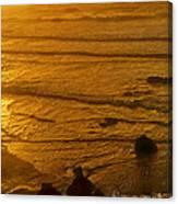 Pacific Ocean Sunset Bandon Beach Oregon Canvas Print