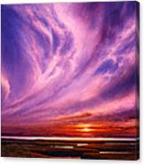 Pacific Rhapsody Canvas Print