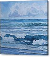 Pacific Rhythms  Canvas Print