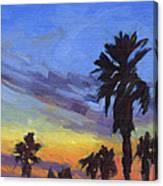 Pacific Sunset 2 Canvas Print