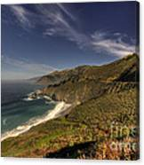 Pacific View  Canvas Print