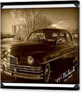 Packard Classic At Truckee River Canvas Print