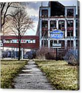 Packard Motel Canvas Print