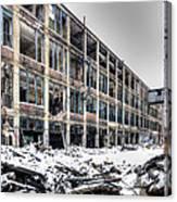 Packard Plant Detroit Michigan - 12 Canvas Print