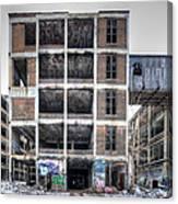 Packard Plant Detroit Michigan - 14 Canvas Print