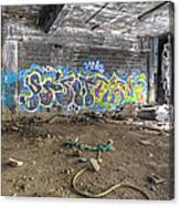 Packard Plant Detroit Michigan - 8 Canvas Print