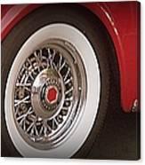 Packard Wheel Canvas Print