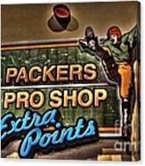 Packer Pro Shop Canvas Print
