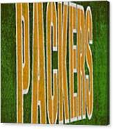Packers Canvas Print