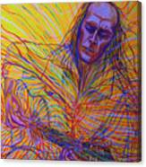 Paco De Lucia And Guardian Angel Canvas Print