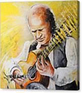 Paco De Lucia Canvas Print