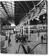 Paddington Station Bw Canvas Print