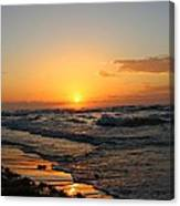 Padre Sunrise Canvas Print