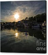 Padstow Dusk  Canvas Print