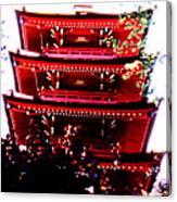 Pagoda Marvel Canvas Print