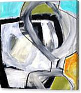 Paint Improv 12 Canvas Print