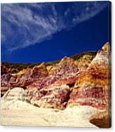 Paint Mines Beauty Canvas Print