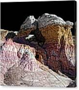 Paint Mines IIi-the Vertex Canvas Print