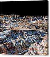 Paint Mines Iv-a Time Of Division Canvas Print