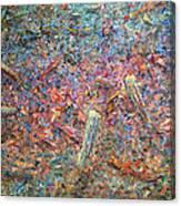 Paint Number 37 Canvas Print