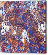 Paint Number Five Canvas Print