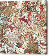 Paint Number Four Canvas Print