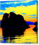 Painting The High Sky And The Deep Sea  Canvas Print
