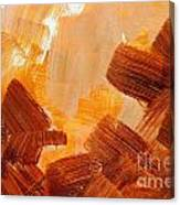 Painted Background Texture Canvas Print