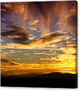 Painted By Mother Nature  Canvas Print