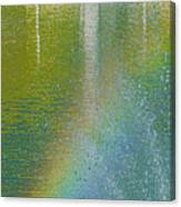 Painted By Water And Light Canvas Print