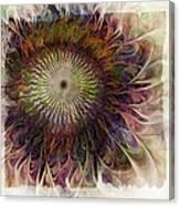 Painted Daisy Canvas Print
