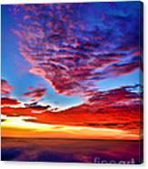Painted Heavens Canvas Print