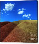 Painted Hills Blue Sky 1 Canvas Print