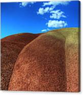 Painted Hills Blue Sky 2 Canvas Print