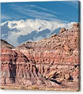 Painted Hills Of The Upper Jurrasic Canvas Print