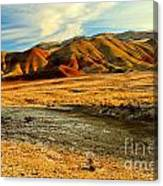 Painted Hills Sunset Canvas Print