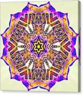 Painted Lotus Xiv Canvas Print