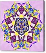 Painted Lotus Xvi Canvas Print
