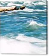 Painted Niagara Canvas Print