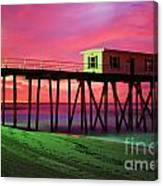Painted Canvas Print