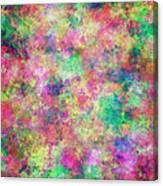 Painted Pixels Canvas Print