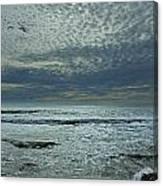 D3a6136-painted Sky Bolinas Ca  Canvas Print