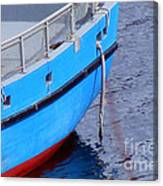 Painter - Strong Rope Canvas Print