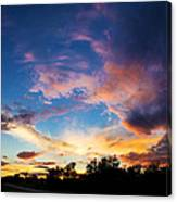 Painter's Sunset Canvas Print