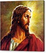 Painting Of Christ Canvas Print